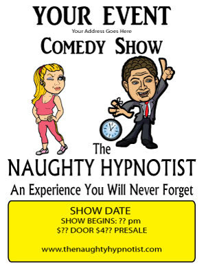 Hype Dance Club Comedy Hypnosis Show